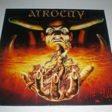 Discos de vinilo: LP ATROCITY - THE HUNT. Lote 243139025