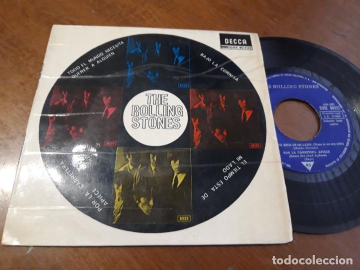 THE ROLLING STONES (TODO EL MUNDO NECESITA QUERER A ALGUIEN +3 ) EP ESPAÑA-1965- SDGE 80.932 - (Música - Discos de Vinilo - EPs - Pop - Rock Internacional de los 70)
