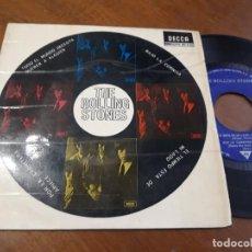 Discos de vinilo: THE ROLLING STONES (TODO EL MUNDO NECESITA QUERER A ALGUIEN +3 ) EP ESPAÑA-1965- SDGE 80.932 -. Lote 243140055