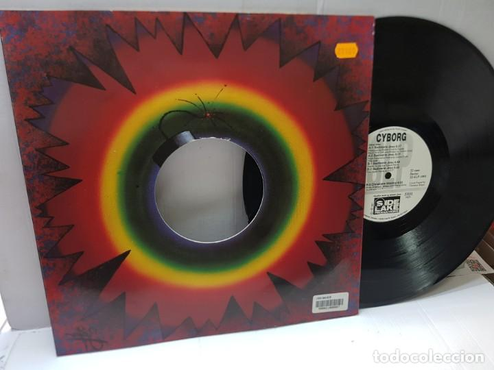 DISCO MAXI SINGLE 33 -SIDE LAKE PRODUCTION-CYBORG- EN FUNDA ORIGINAL 1991 (Música - Discos de Vinilo - Maxi Singles - Pop - Rock Internacional de los 90 a la actualidad)