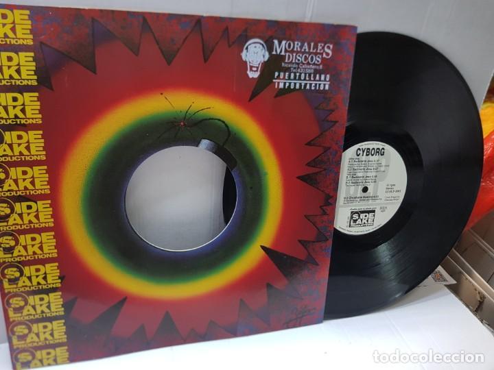 Discos de vinilo: DISCO MAXI SINGLE 33 -SIDE LAKE PRODUCTION-CYBORG- en funda original 1991 - Foto 2 - 243140625