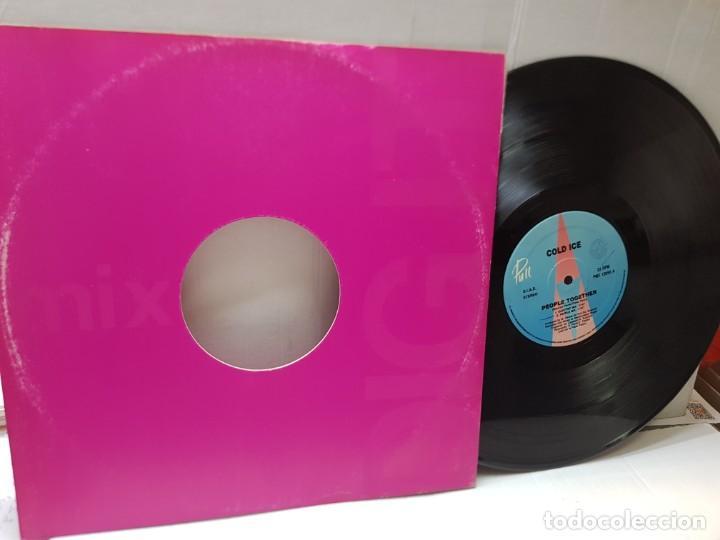 DISCO EPS 33 -COLD ICE-PEOPLE TOGETHER- EN FUNDA ORIGINAL (Música - Discos de Vinilo - EPs - Pop - Rock Internacional de los 90 a la actualidad)