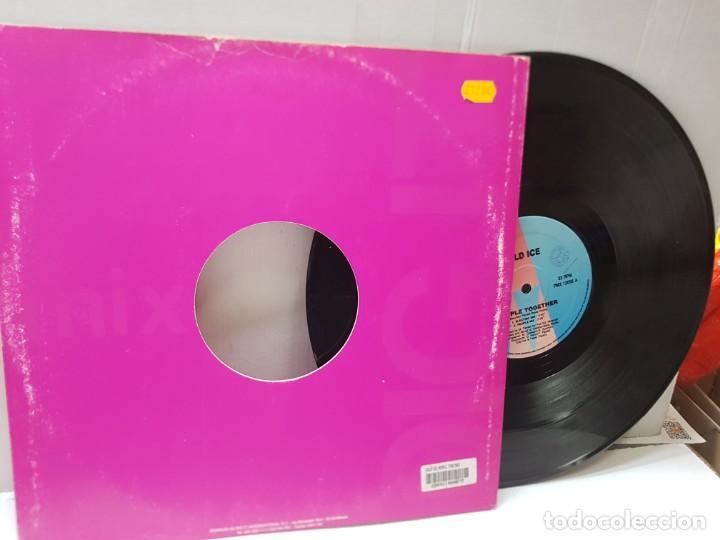 Discos de vinilo: DISCO EPS 33 -COLD ICE-PEOPLE TOGETHER- en funda original - Foto 2 - 243142780