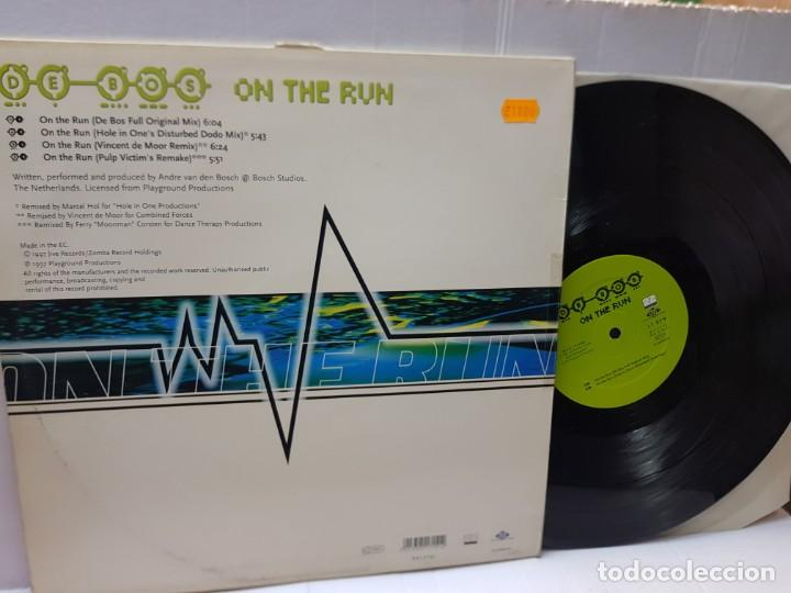 Discos de vinilo: DISCO EPS 33 -DE BOS-ON THR RUN- en funda original 1997 - Foto 2 - 243145200