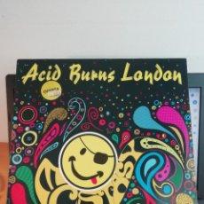 Discos de vinilo: RAR LP 33. ACID BURNS LONDON. MADE IN GERMANY. Lote 243157595