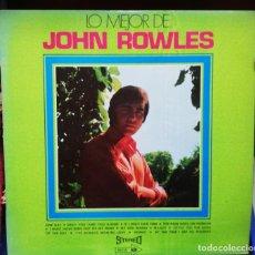 Discos de vinilo: LO MEJOR DE JOHN ROWLES. Lote 243158755