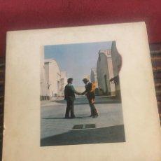 Disques de vinyle: PINK FLOYD - WISH YOU WERE HERE LP EDICION ESPAÑOLA INCLUYE ENCARTE. Lote 243160050