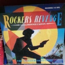 Discos de vinilo: ROCKERS REVENGE. THE HARDER THEY COME. Lote 243160740