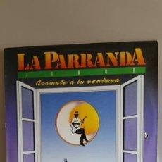 Discos de vinilo: LP DE LA PARRANDA / 10 SIMPATICAS CANCIONES POPULARES / EDITADA POR GOFIO RECORDS-1990. Lote 235088230