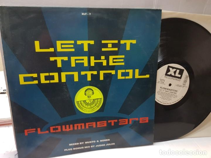 DISCO EPS 33 1/3 -FLOWMASTERS-LET IT TAKE CONTROL- EN FUNDA ORIGINAL 1990 (Música - Discos de Vinilo - EPs - Pop - Rock Internacional de los 90 a la actualidad)