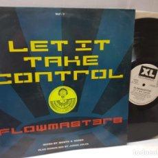 Discos de vinilo: DISCO EPS 33 1/3 -FLOWMASTERS-LET IT TAKE CONTROL- EN FUNDA ORIGINAL 1990. Lote 243174670