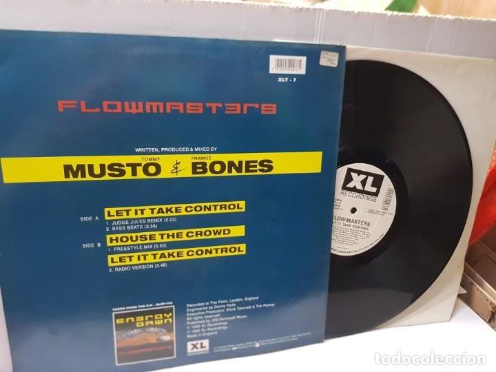 Discos de vinilo: DISCO EPS 33 1/3 -FLOWMASTERS-LET IT TAKE CONTROL- en funda original 1990 - Foto 2 - 243174670