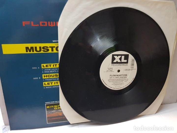 Discos de vinilo: DISCO EPS 33 1/3 -FLOWMASTERS-LET IT TAKE CONTROL- en funda original 1990 - Foto 3 - 243174670