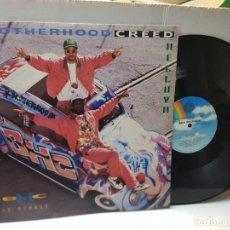 Discos de vinilo: DISCO EPS 33 1/3 -BROTHERHOOD CREED BHC-HELLUVA- EN FUNDA ORIGINAL 1992. Lote 243176545