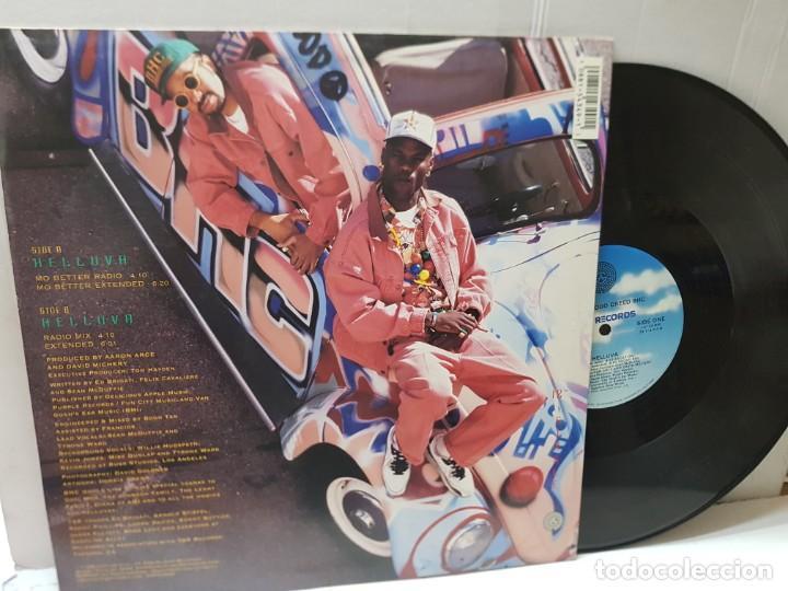 Discos de vinilo: DISCO EPS 33 1/3 -BROTHERHOOD CREED BHC-HELLUVA- en funda original 1992 - Foto 2 - 243176545