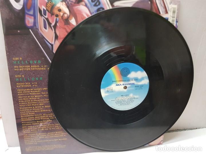 Discos de vinilo: DISCO EPS 33 1/3 -BROTHERHOOD CREED BHC-HELLUVA- en funda original 1992 - Foto 3 - 243176545