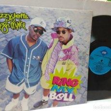 Discos de vinilo: DISCO EPS 33 1/3 -D.J. JAZZY JEFF & THE FRESH PRINCE-RING MY BELL- EN FUNDA ORIGINAL 1991. Lote 243177625
