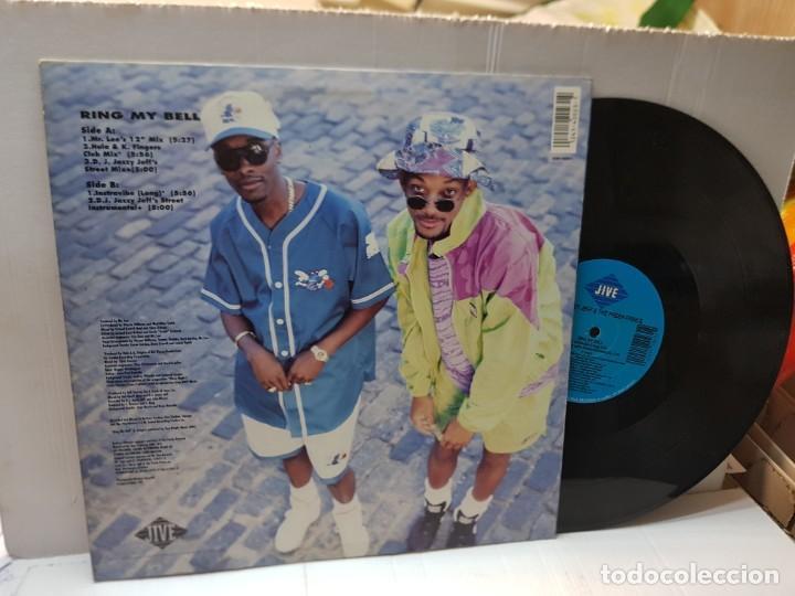 Discos de vinilo: DISCO MAXI SINGLE 33 1/3 -D.J. JAZZY JEFF & THE FRESH PRINCE-RING MY BELL- en funda original 1991 - Foto 2 - 243177625