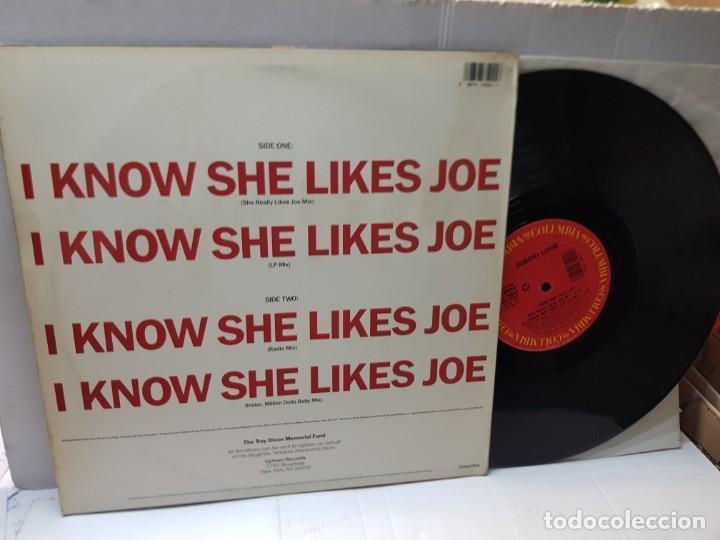 Discos de vinilo: DISCO MAXI SINGLE 33 1/3 -JOESKI LOVE-I KNOW SHE LIKES JOE- en funda original 1990 - Foto 2 - 243180115