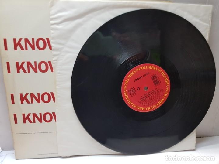 Discos de vinilo: DISCO MAXI SINGLE 33 1/3 -JOESKI LOVE-I KNOW SHE LIKES JOE- en funda original 1990 - Foto 3 - 243180115