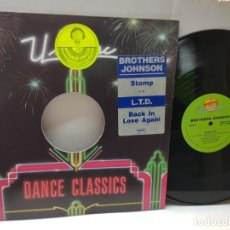 Discos de vinil: DISCO EPS 33 1/3 -BROTHER JOHNSON-STOMP- EN FUNDA ORIGINAL 1980. Lote 243180870