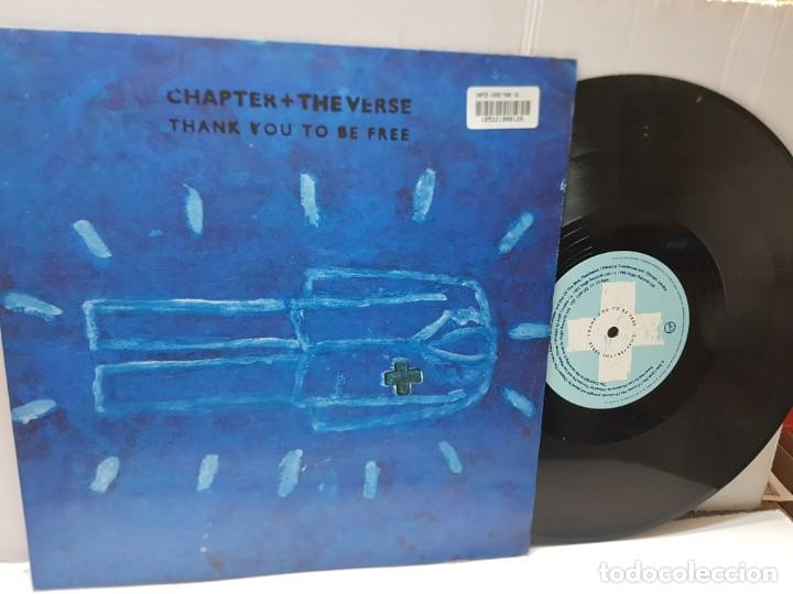 DISCO EPS 33 1/3 -CHAPTER + THE VERSE-THANK YOU TO BE FREE- EN FUNDA ORIGINAL 1992 (Música - Discos de Vinilo - EPs - Pop - Rock Internacional de los 90 a la actualidad)