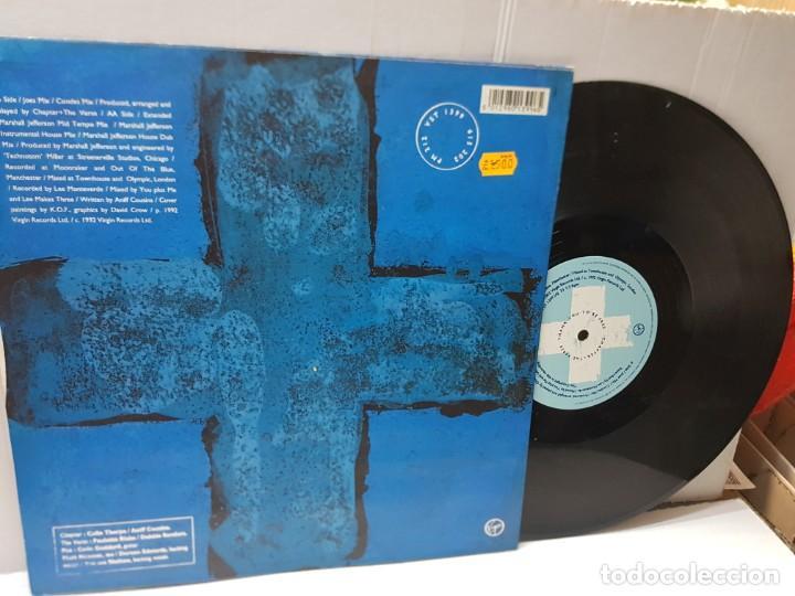 Discos de vinilo: DISCO EPS 33 1/3 -CHAPTER + THE VERSE-THANK YOU TO BE FREE- en funda original 1992 - Foto 2 - 243181925
