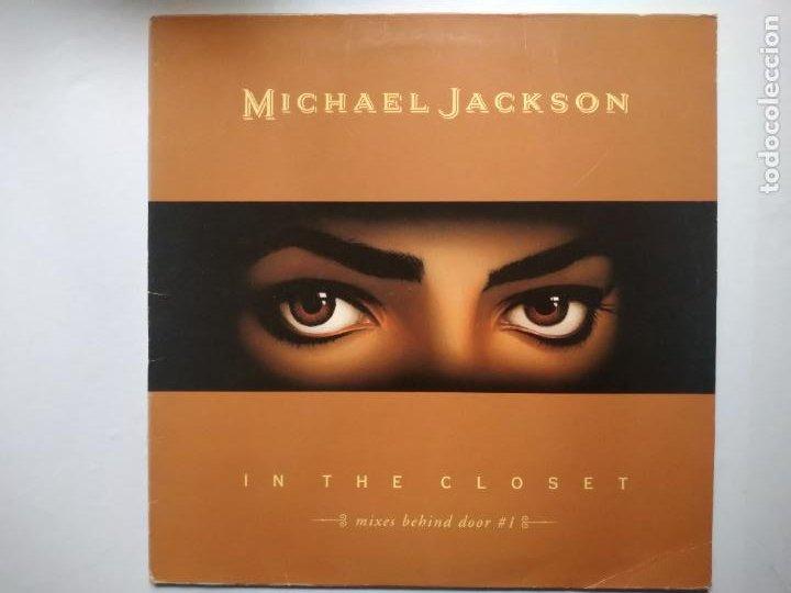 MAXI-SINGLE MICHAEL JACKSON. IN THE CLOSET, MIXES BEHIND DOOR. 1992. (Música - Discos de Vinilo - Maxi Singles - Pop - Rock Internacional de los 90 a la actualidad)