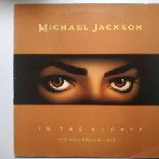 Discos de vinilo: MAXI-SINGLE MICHAEL JACKSON. IN THE CLOSET, MIXES BEHIND DOOR. 1992.. Lote 243182850