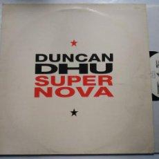 Disques de vinyle: LP DUNCAN DHU. SUPERNOVA. GASA, 1991.. Lote 243184030
