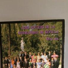 """Discos de vinilo: LP DEL CORO ROCIERO / DE LA HERMANDAD DE SEVILLA / SEVILLANAS Y PLEGARIAS.""""OTRA VEZ / 1,988. Lote 235091945"""