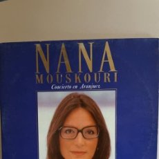 "Discos de vinilo: DOBLE LP / DE NANA MOUSKOURI / "" EL CONCIERTO DE ARANJUEZ "" / POLIGRAMA IBERICA - 1989. Lote 235096815"