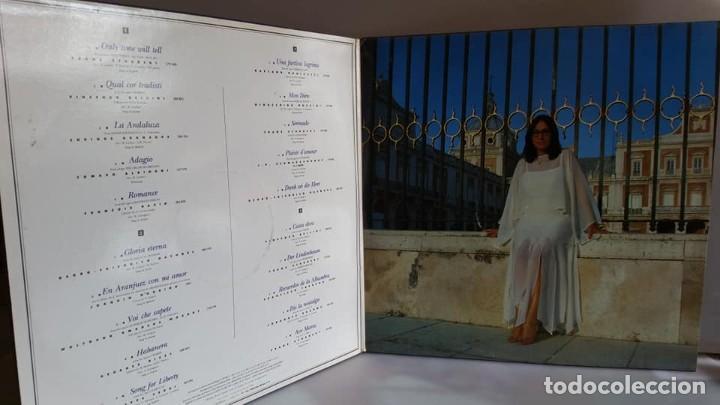Discos de vinilo: DOBLE LP DE NANA MOUSKOURI / CONCIERTO EN ARANJUEZ / 1989. - Foto 2 - 235096815