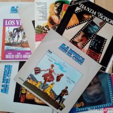 Discos de vinilo: BANDAS SONORAS DE LA HISTORIA DEL CINE - LOTE 20 DISCOS. Lote 243201320