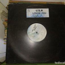 Discos de vinilo: DISCO DE VINILO U.B.M. LOBIN' YOU. Lote 243207300