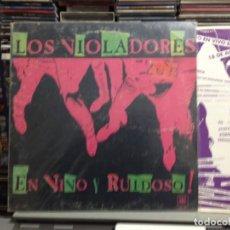 Discos de vinilo: LOS VIOLADORES - EN VIVO Y RUIDOSO! LP DE VINILO MADE IN ARGENTINA 1990. COVER VG+ VINYL NM. Lote 243213530