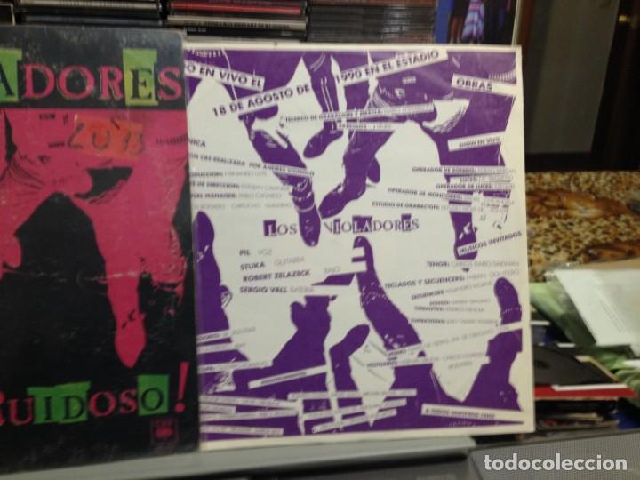 Discos de vinilo: LOS VIOLADORES - EN VIVO Y RUIDOSO! LP DE VINILO MADE IN ARGENTINA 1990. COVER VG+ VINYL NM - Foto 2 - 243213530
