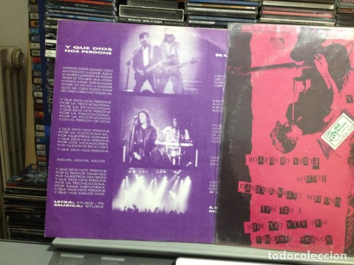 Discos de vinilo: LOS VIOLADORES - EN VIVO Y RUIDOSO! LP DE VINILO MADE IN ARGENTINA 1990. COVER VG+ VINYL NM - Foto 3 - 243213530