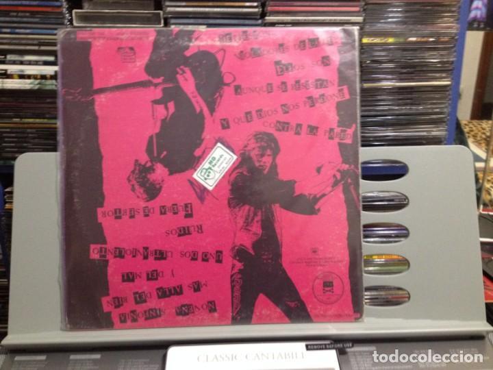 Discos de vinilo: LOS VIOLADORES - EN VIVO Y RUIDOSO! LP DE VINILO MADE IN ARGENTINA 1990. COVER VG+ VINYL NM - Foto 4 - 243213530