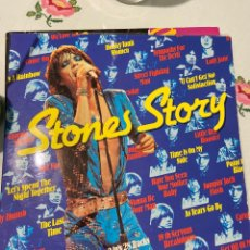 Disques de vinyle: THE ROLLING STONES 2 LP STONES STORY. Lote 243216885