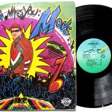 Discos de vinilo: TONY D - MUSIC MAKES YOU MOVE - LP SURE SHOT RECORDS 1989 USA BPY. Lote 243217860