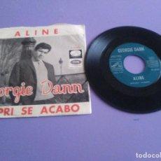 Discos de vinilo: SINGLE. GEORGIE DANN - ALINE / CAPRI SE ACABÓ - SPAIN 1966 - LA VOZ DE SU AMO PL 63.122. Lote 243233980