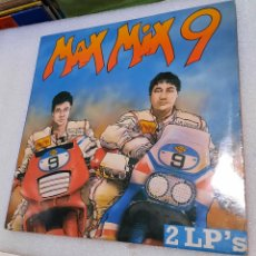Disques de vinyle: MAX MIX 9. DOBLE LP. Lote 243243410