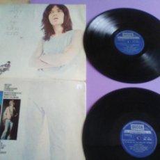 Discos de vinilo: LO MEJOR DE THE ROLLING STONES DOBLE LP DECCA 1972 - 24 TEMAS CLASICOS - PORTADA UNICA ESPAÑOLA. Lote 243247585