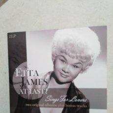 Discos de vinilo: ETTA JAMES, AT LAST ! SINGS FOR LOVERS ( 2 VINILOS LP ). Lote 243250600