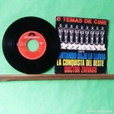 Discos de vinilo: LAS ESTRELLAS . 6 TEMAS DE CINE - LIMPIO TRATADO CON ALCOHOL ISOPROPÍLICO. Lote 243250645