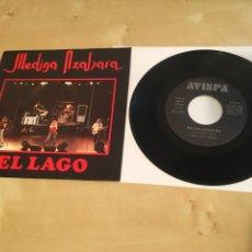 """Discos de vinilo: MEDINA AZAHARA - EL LAGO - SINGLE RADIO 7"""" - 1991. Lote 243263295"""