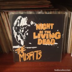 Discos de vinil: MISFITS / NIGHT OF THE LIVING DEAD / NOT ON LABEL. Lote 243266980