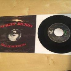 """Discos de vinilo: SURFIN' BICHOS - RIFLE DE REPETICION / ESCOCIDO - SINGLE RADIO 7"""" - 1991. Lote 243275230"""