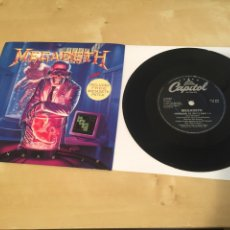 """Discos de vinilo: MEGADETH - HANGAR - SINGLE RADIO 7"""" - NO INCLUYE PATCH. Lote 243277510"""